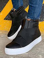 Мужские ботинки Chekich CH023 St Black/white