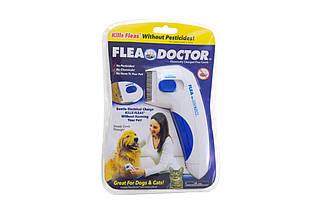 Электрическая расческа от блох для собак и котов Elite - Flea Doctor (EL-1059-1), (Оригинал)