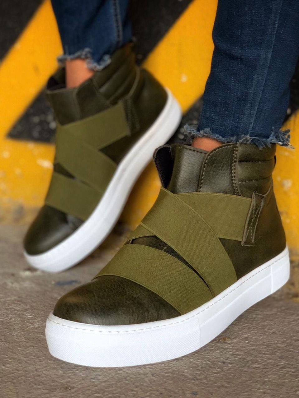 Чоловічі черевики Chekich CH023 St Khaki
