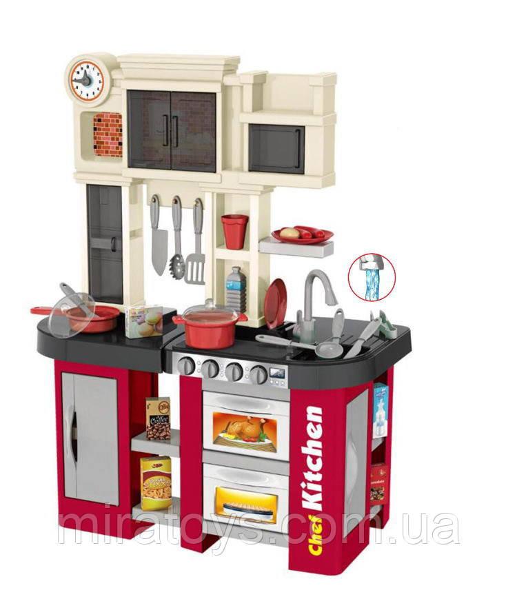 Дитяча ігрова кухня 922-103, висота 84 див., вода, звук, світло, 32 предметів