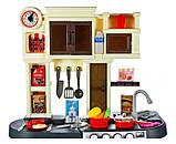 Дитяча ігрова кухня 922-103, висота 84 див., вода, звук, світло, 32 предметів, фото 3