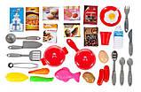 Дитяча ігрова кухня 922-103, висота 84 див., вода, звук, світло, 32 предметів, фото 6