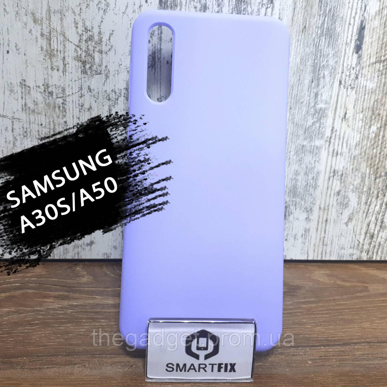 Силиконовый чехол для Samsung A30S / A50 / A307F / A505F Wave