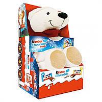 Kinder Chocolate Mini с мягкой игрушкой Белый медведь