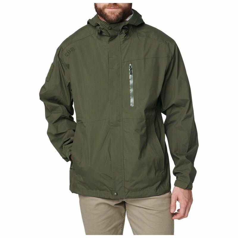 Оригинал Мембранный дождевик 5.11 Tactical Men's Waterproof Aurora Shell Jacket Lightweight 48343 X-Large,