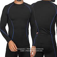 Компрессионная мужская футболка с длинным рукавом опт 220грн, фото 1