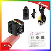 Мини камера SQ11 с датчиком движения и ночной съемкой, экшн скрытая мини-камера,камеры видеонаблюдения
