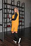 Женское трикотажное платье-сарафан с карманами р. 50-52, 54-56, 58-60, 62-64, фото 2