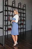 Женское трикотажное платье-сарафан с карманами р. 50-52, 54-56, 58-60, 62-64, фото 5
