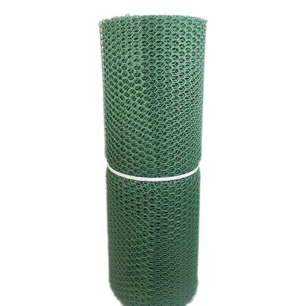 Сетка для защиты деревьев и плодовых кустов от птиц высота 50 см х 30 м ячейка 20х20 мм (темно-зеленая)