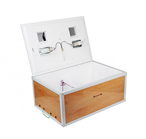 Инкубатор бытовой Курочка Ряба, на 130 яиц, механический, цифровой, инфракрасный пленочный нагреватель