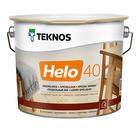 ХЕЛО 40 уретано-алкидный лак для деревянных поверхностей внутри и вне зданий (полуматовый)
