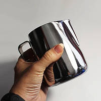 Питчер для молока из нержавеющей стали без крышки 1 л (7663)