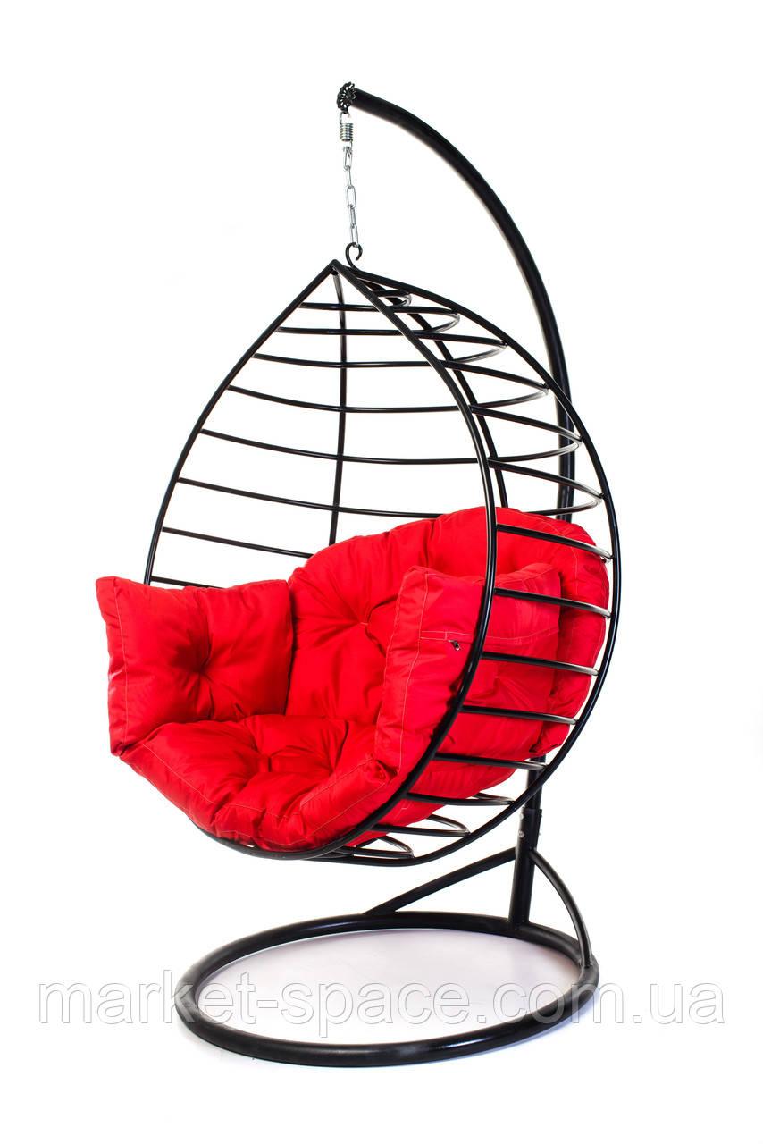 """Подвесное кресло кокон с подставкой-опорой """"AURORA-S"""". Качеля-гамак"""