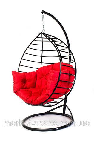 """Подвесное кресло кокон с подставкой-опорой """"AURORA-S"""". Качеля-гамак, фото 2"""