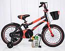 Детский двухколесный велосипед HAMMER S500 красный  16 дюймов, фото 2