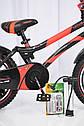 Детский двухколесный велосипед HAMMER S500 красный  16 дюймов, фото 4