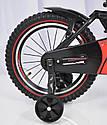 Детский двухколесный велосипед HAMMER S500 красный  16 дюймов, фото 3