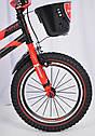 Детский двухколесный велосипед HAMMER S500 красный  16 дюймов, фото 5