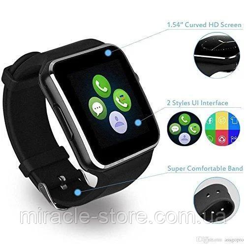 Наручний флагман смарт годинник Smart Watch розумні годинник