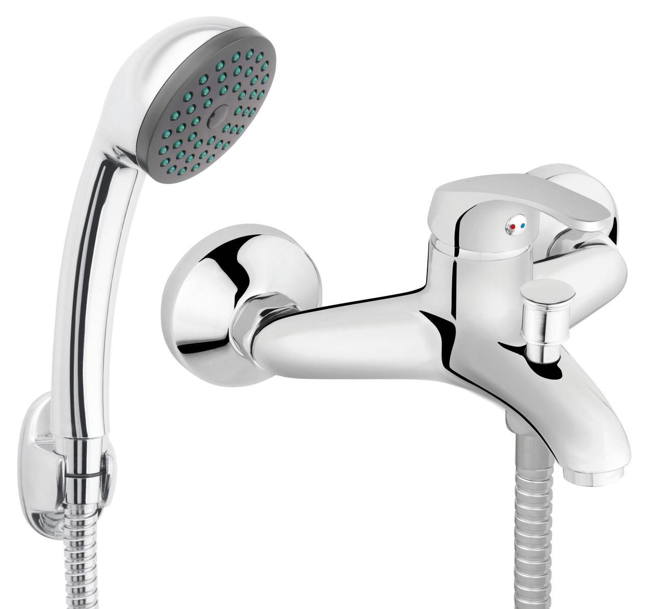 Смеситель для ванны Ferro Basic BBC11 хром