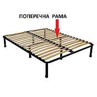Каркас кровати 160х200 усиленный, 46 ламелей, 8 ножек, 30х30