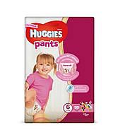 Підгузки-трусики для дівчинки Huggies pants 6(15-25)кг 30шт 2557201