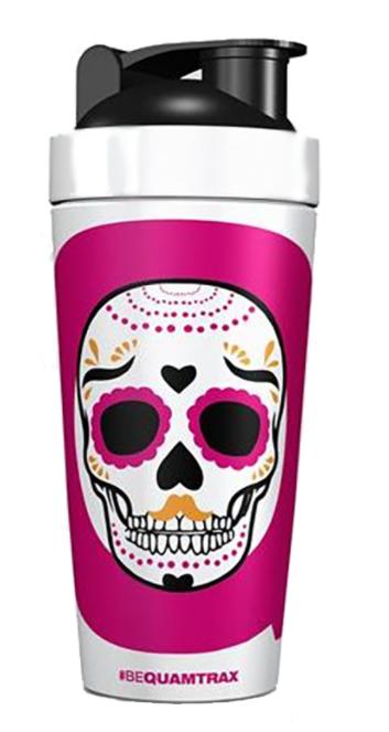 Шейкер Quamtrax Metal Shaker Skull 740 мл