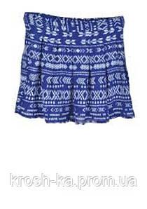 Юбка для девочки Tiffosi Португалия синия 757