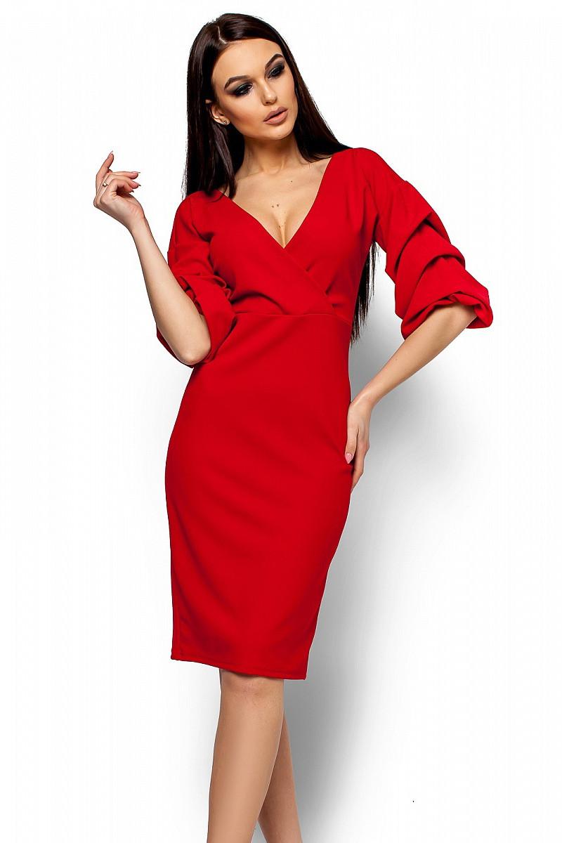 S, M, L | Вишукане вечірнє плаття Charry, червоний