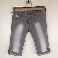 Шорты джинсовые для девочки Bebizia Турция серые 332