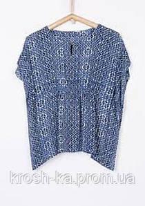Блуза для девочки Colombia (116,128,140,152,164)р Tiffosi Португалия синий 6552