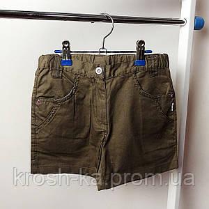 Шорты для девочки (110)р коттон коричневый Tup Tup Польша 73736