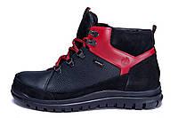 Мужские зимние кожаные ботинки ZG  Flotar Red style
