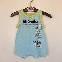 Пісочник для хлопчика (56)р Mignolo Італія блакитний 2.С329/00/3676