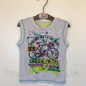 Майка для мальчика Bicycle SooBe Турция серая 5930