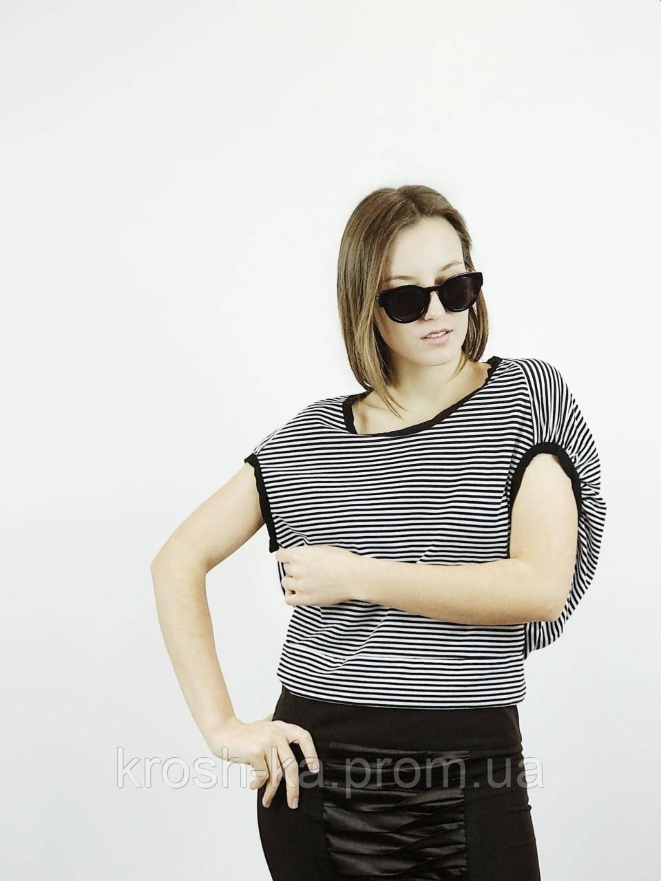 Блуза футболка женская полоска 34)р Evona Франция 2673
