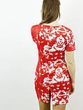 Платье женское красный принт (36,38)р Histeric Glamour Китай красный 6800, фото 3