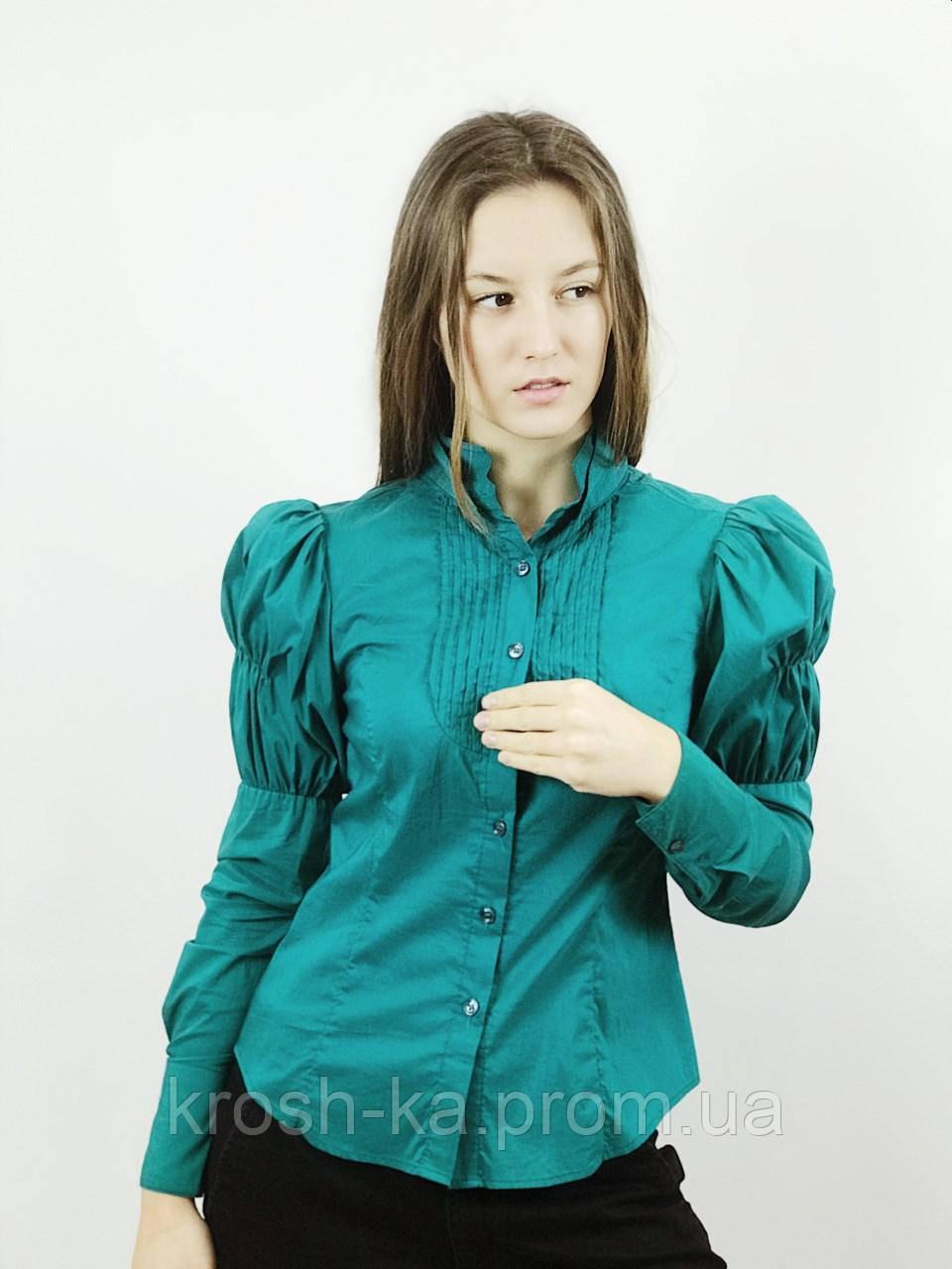 Блуза жіноча смарагдова (38)р Nysense Франція 2624