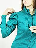 Блуза жіноча смарагдова (38)р Nysense Франція 2624, фото 2