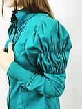 Блуза жіноча смарагдова (38)р Nysense Франція 2624, фото 3