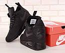 Кросівки чоловічі зимові Nike Air Max 90 Winter Black, фото 4
