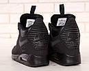 Кросівки чоловічі зимові Nike Air Max 90 Winter Black, фото 9