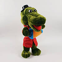 Мягкая игрушка Крокодил Гена поёт песню 30см Украина 11084