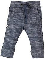 Штаны спортивные для мальчика меланжевый джинс (62)р Boboli Испания 321039