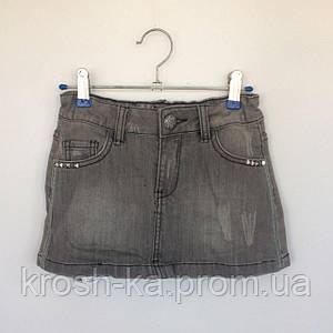 Юбка для девочки New York Wojcik Польша серый металлик 69325