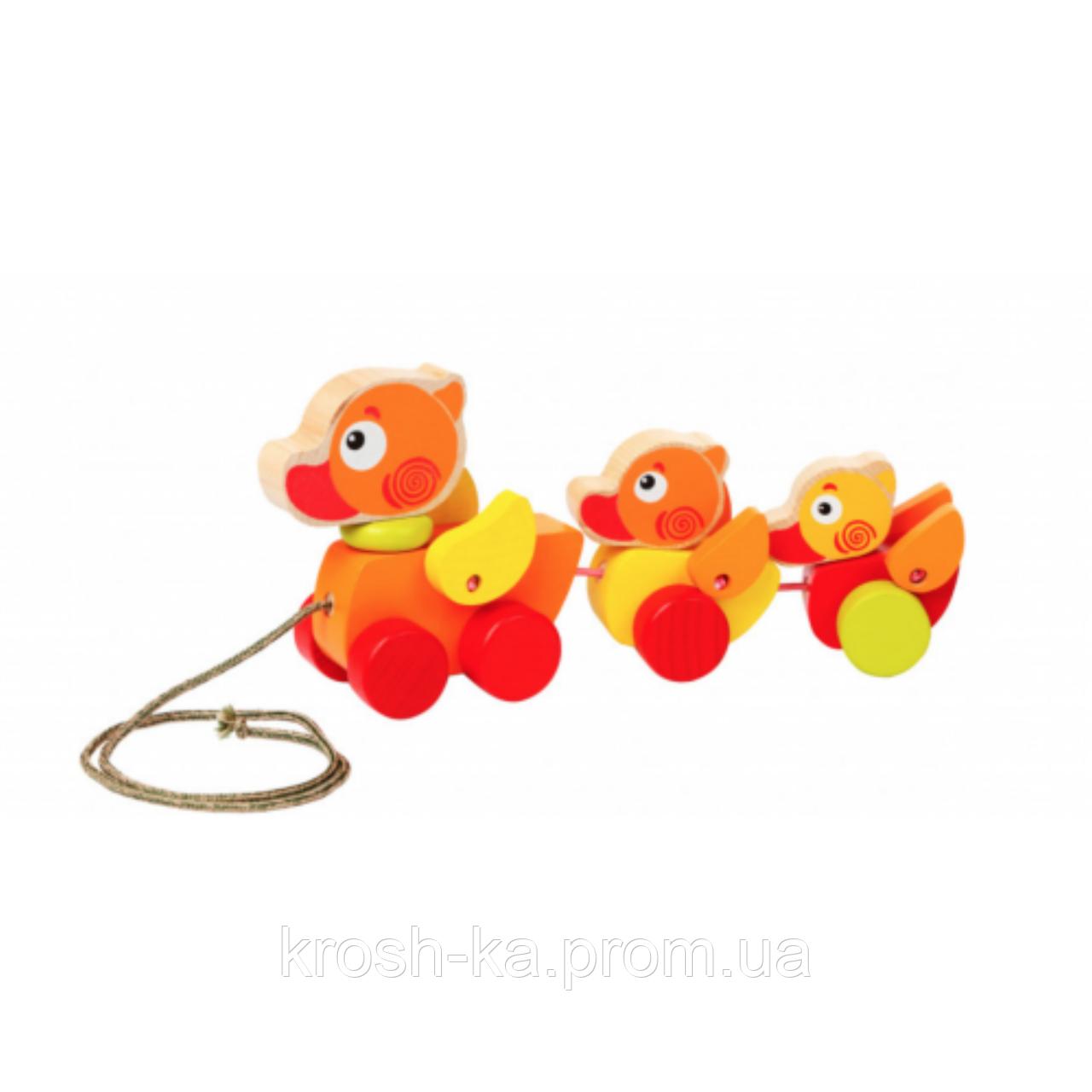 Деревянная игрушка Путешествие утят Cubika Украина 13722