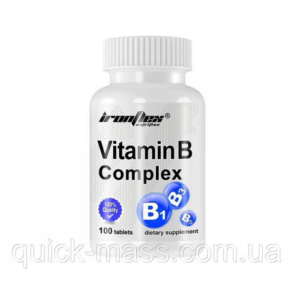 Витамины группы В IronFlex Vitamin B Complex 100tabs