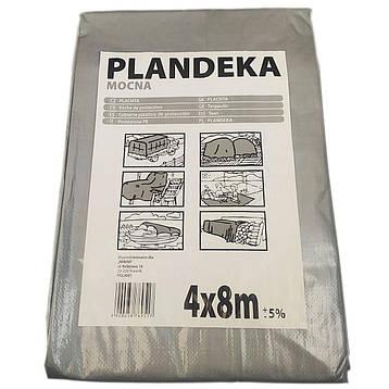 """Тент от солнца дождя и снега """"Plandeka"""" 100g\m2 - 4х8м. Ламинированный с кольцами. Пологи, фото 2"""