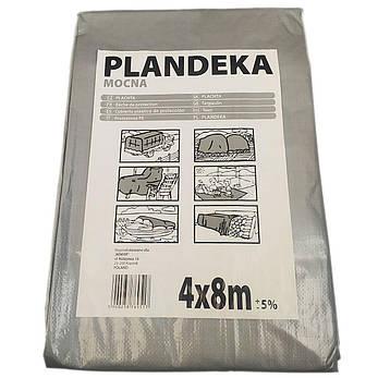 """Тент от солнца дождя и снега """"Plandeka"""" 100g\m2 - 8х10м. Ламинированный с кольцами. Полог, фото 2"""